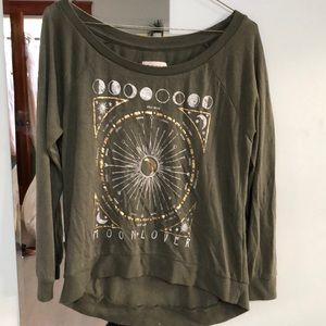 Women's Moon Phase Long Sleeve